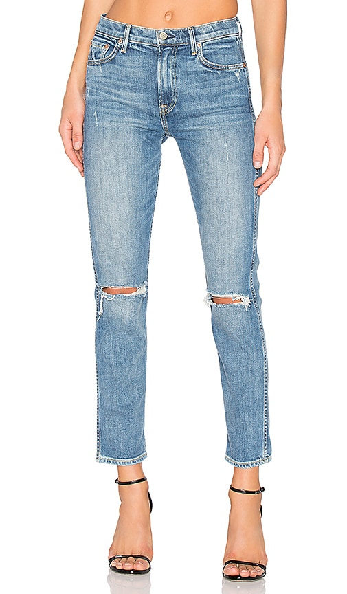 GRLFRND Naomi High-Rise Stretch Jean in I Will Suvive