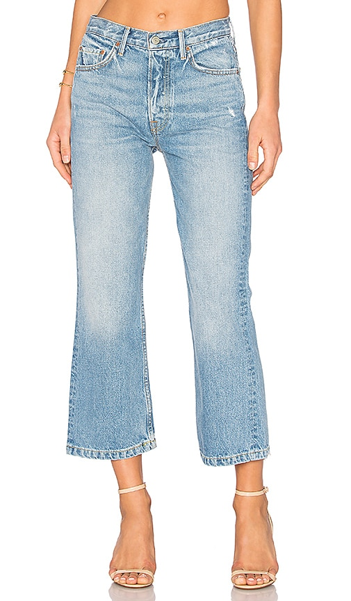 Linda cropped high-waisted jeans GRLFRND