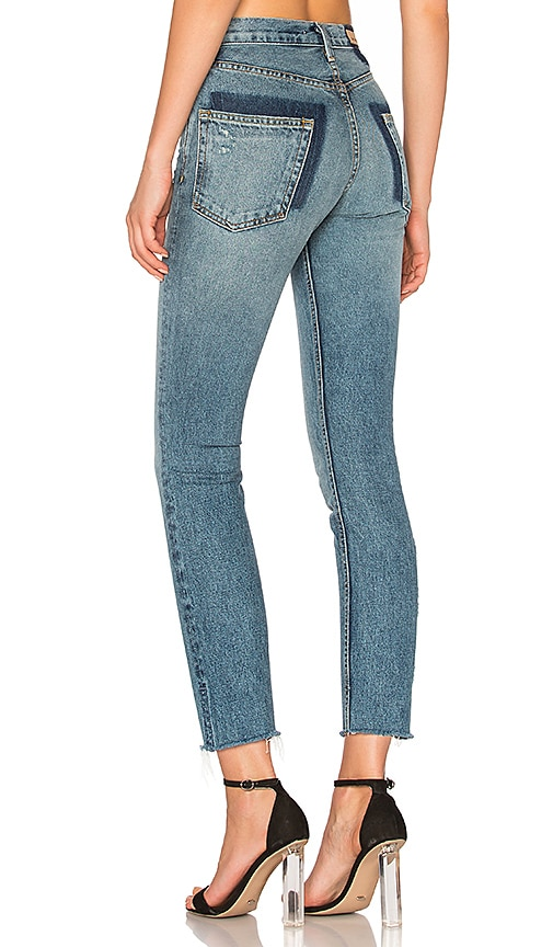 GRLFRND Karolina High-Rise Skinny Jean in Whole Lotta Love