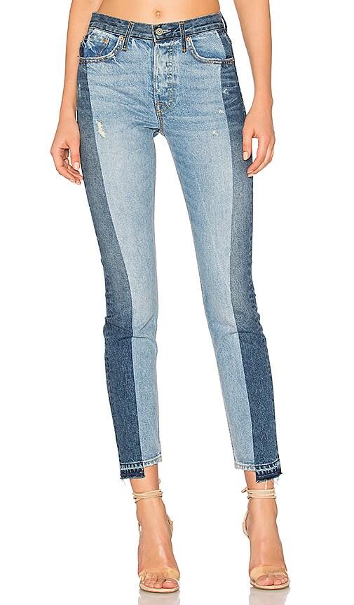 GRLFRND Karolina High-Rise Skinny Jean in Thunder Road