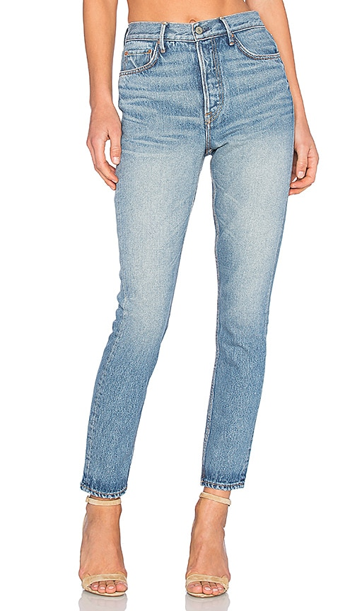 GRLFRND PETITE Karolina High-Rise Skinny Jean in The Way We Were