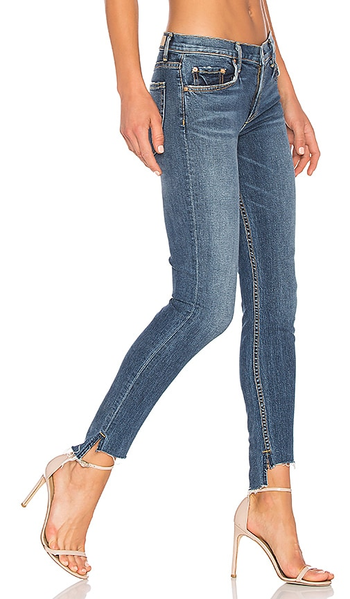 x REVOLVE Candice Mid-Rise Skinny Jean