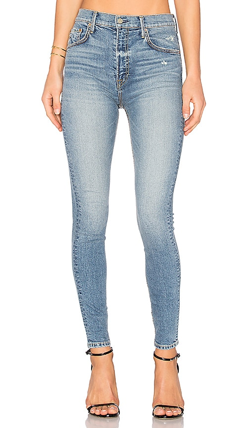 GRLFRND PETITE Kendall Super Stretch High-Rise Skinny Jean in Heart of Glass