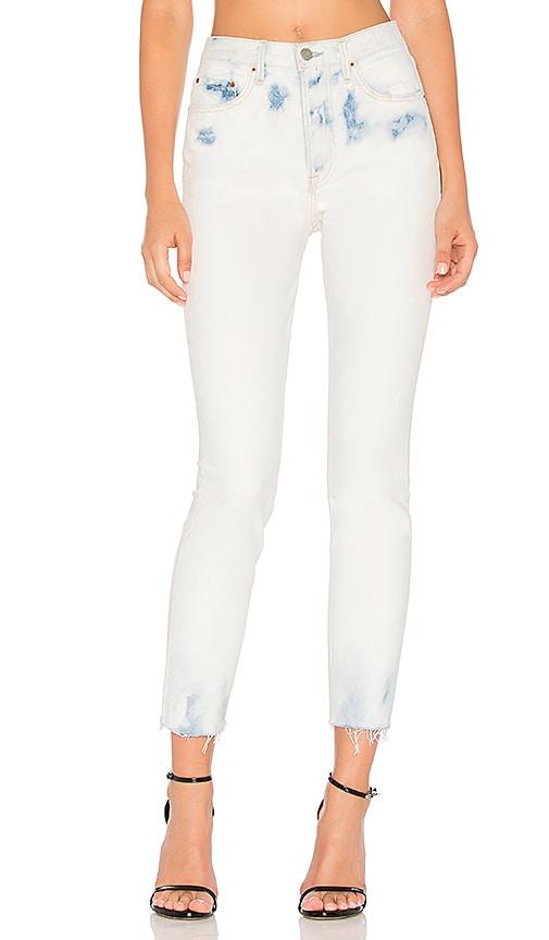 GRLFRND Karolina High-Rise Skinny Jean in Maggie May