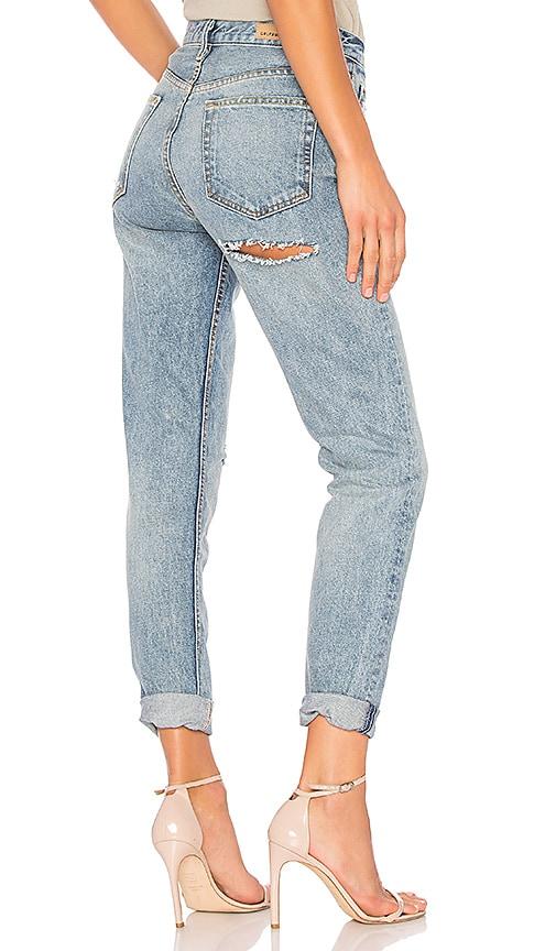 GRLFRND Karolina High-Rise Skinny Jean in Uptown