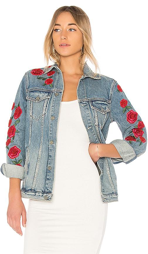 GRLFRND Daria Oversized Denim Jacket in Endless Love