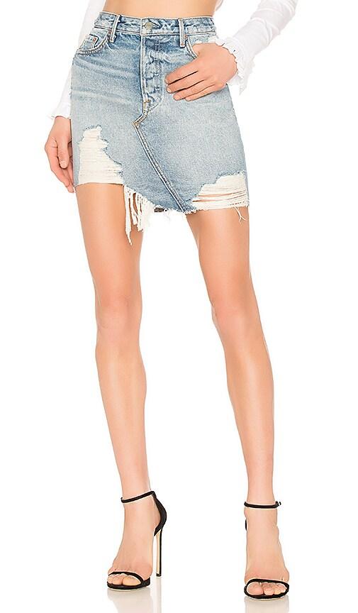 Rhoda High Low Mini Skirt