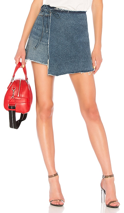 Ella High-Rise Wrap Skirt