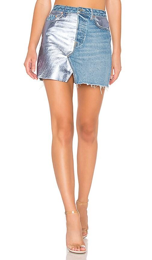 Mila A-Frame Spliced Skirt
