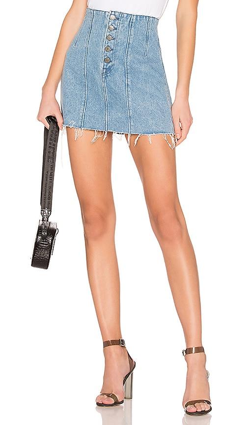 Twiggy High-Rise Mini Skirt