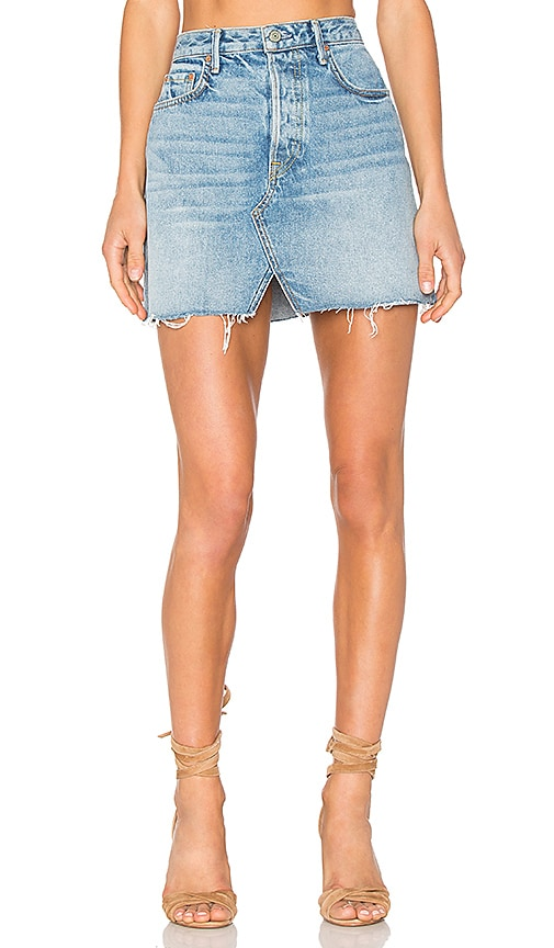 x REVOLVE Milla Denim Mini Skirt
