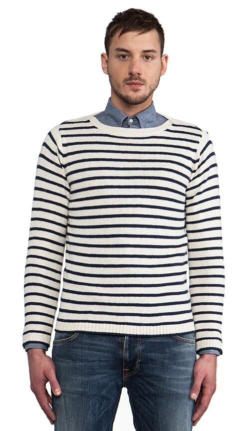 Breton Split Pullover