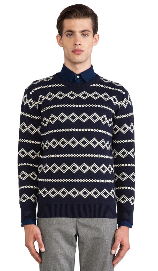 Diamond Jacquard Sweater