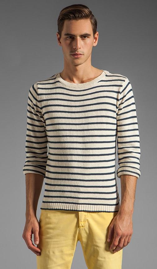 Breton Split Crue Sweater