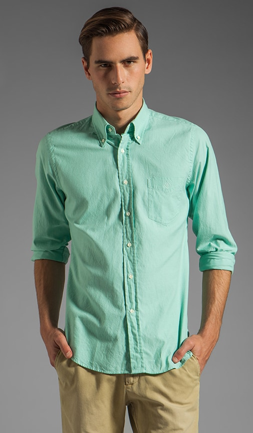 Dreamy Oxford Solid HOBD Shirt