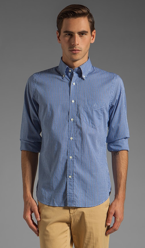 Imported Fabric Gingham HOBD Shirt