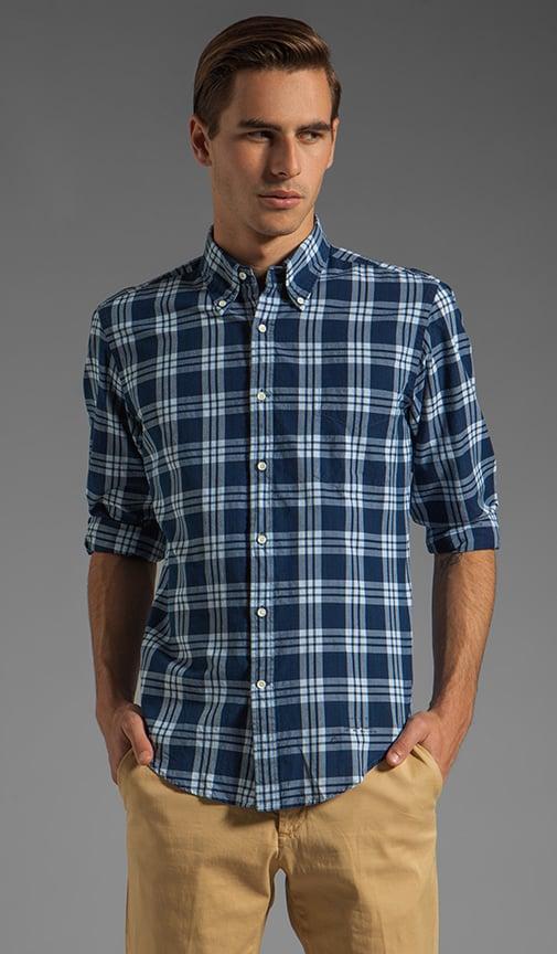 Indigo Madras E-Z OBD Shirt
