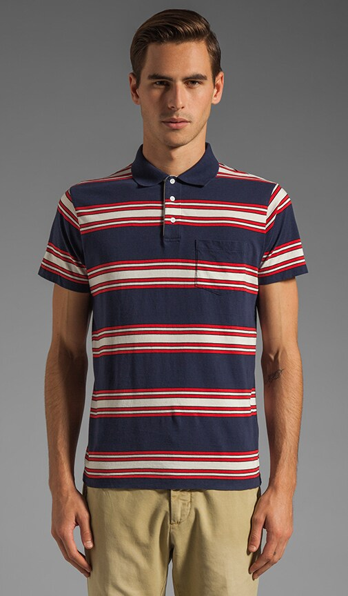 Awning Stripe Polo