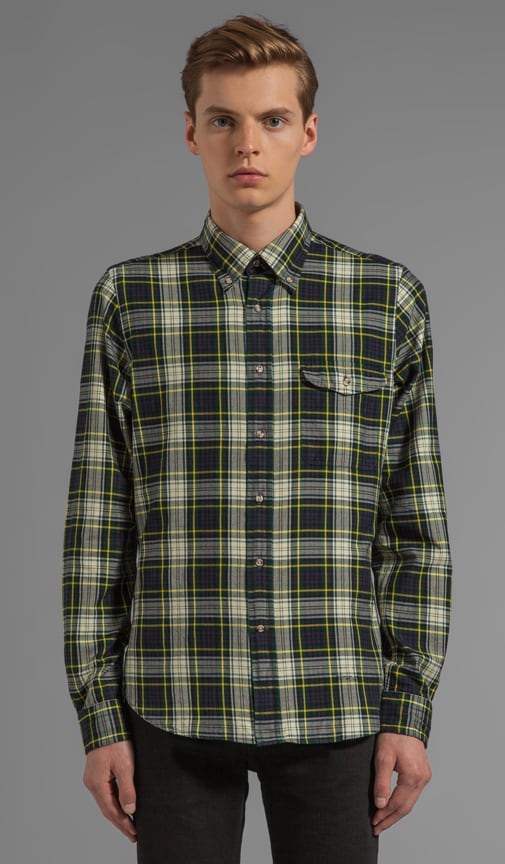 Bleecker Twill Tartan Button Down