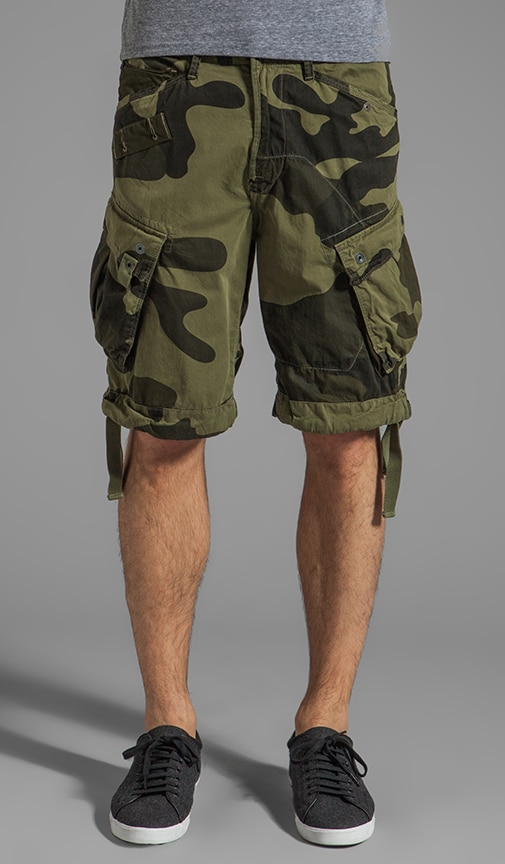 Rovic Loose Camouflage 1/2 Short