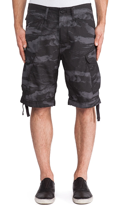 Rovic Loose Wave Bermuda Cargo Short