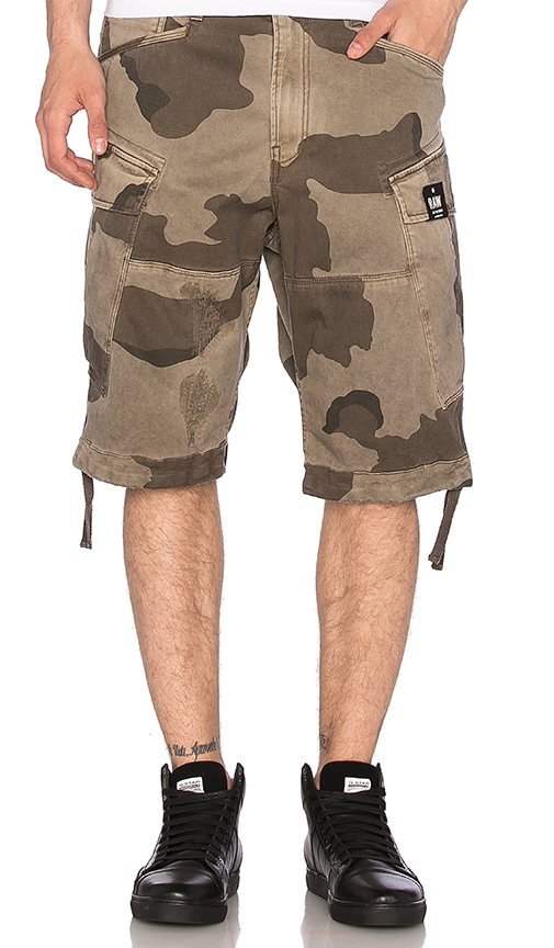G-Star Rovic Loose Shorts in Gray