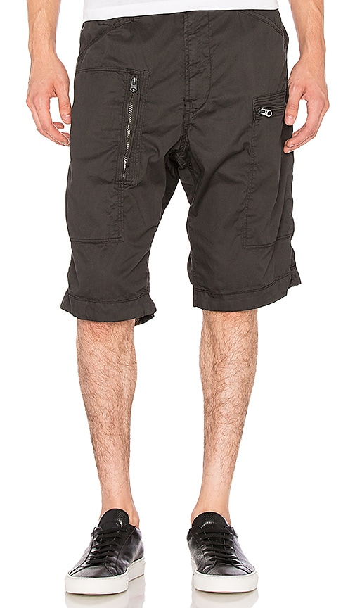 G-Star Powel Loose Half Short in Black