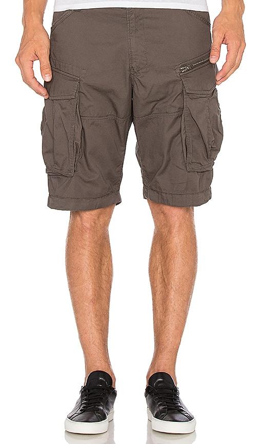 G-Star Rovic Zip Half Short in Gray