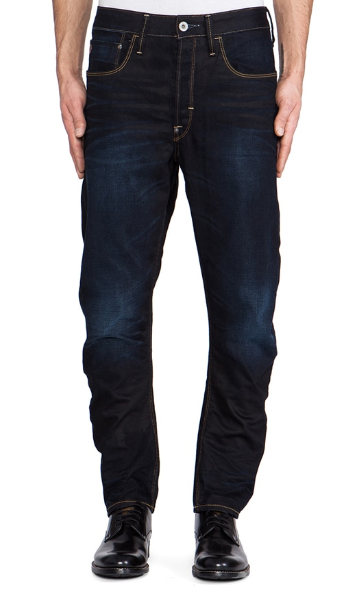 Type C 3D Loose Tapered Lexicon Denim