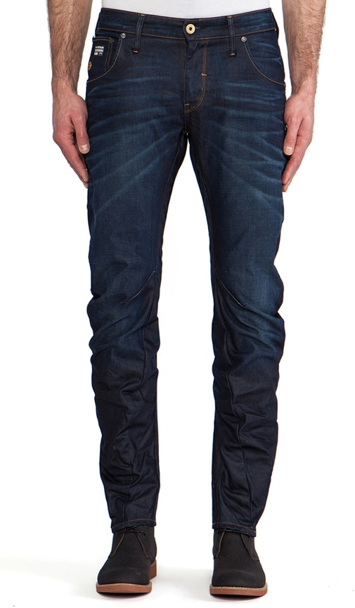 Arc 3D Low Slim Lexicon Denim