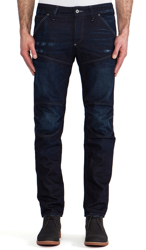 5620 3D Low Tapered Bicc Denim