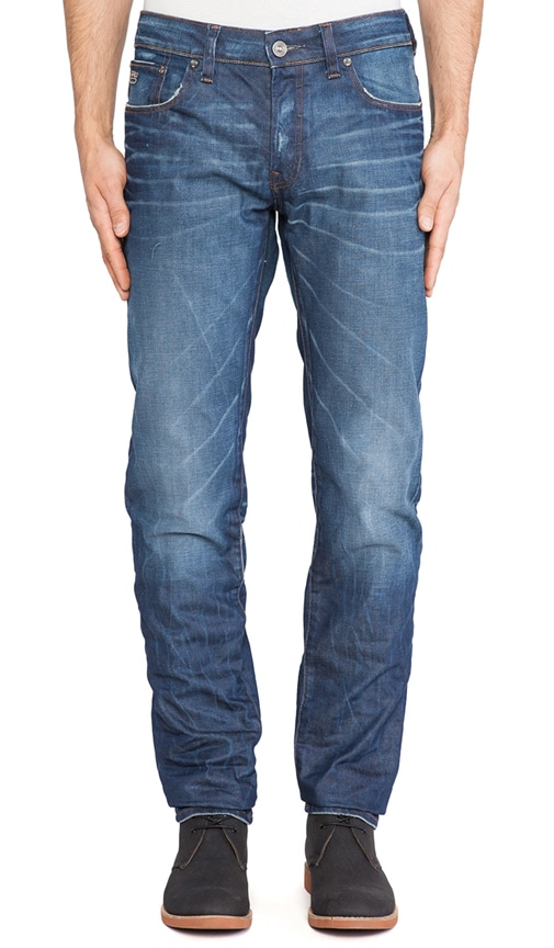 3301 Low Tapered Lexicon Denim