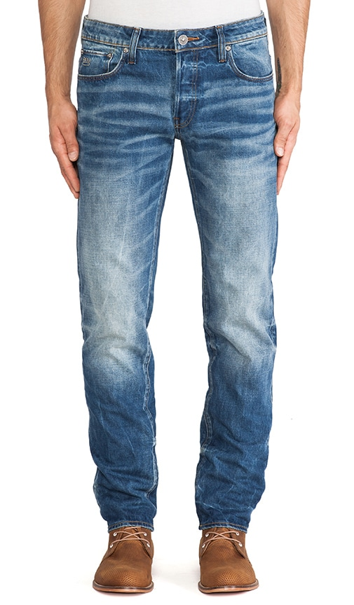 3301 Low Tapered Sheldy Denim