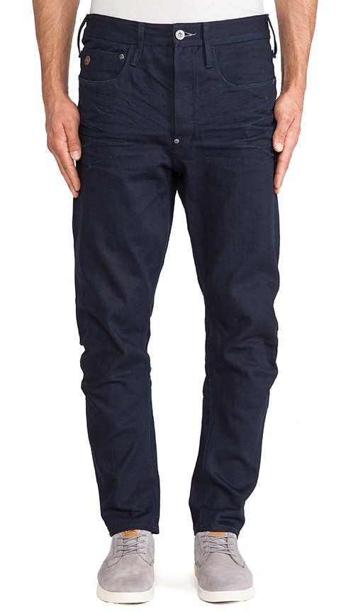 Type C 3D Loose Tapered Light Mazarine Denim