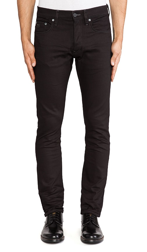 3301 Slim Comfort Black Edington Denim