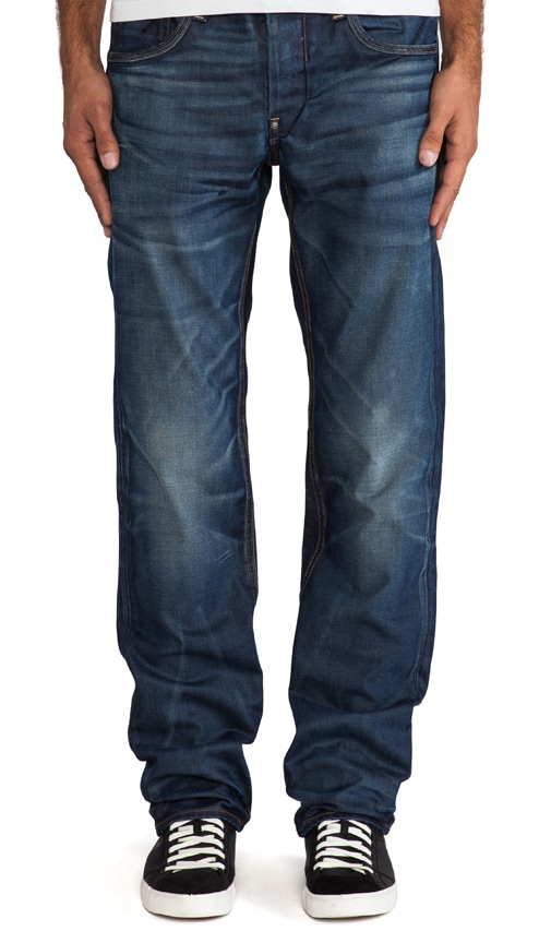 Attacc Low Straight Taland Denim