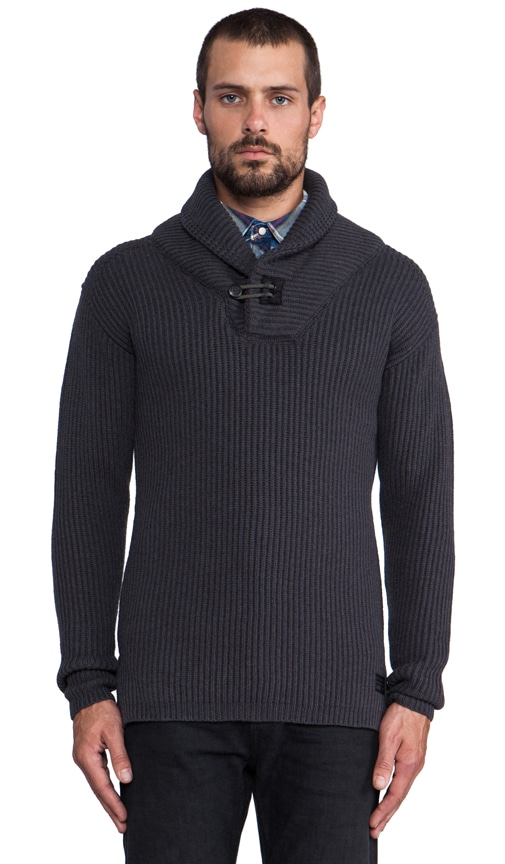 Diversity Shawl Collar Sweater