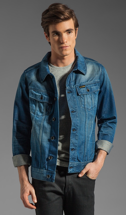 Slim Tailor Denim Jacket