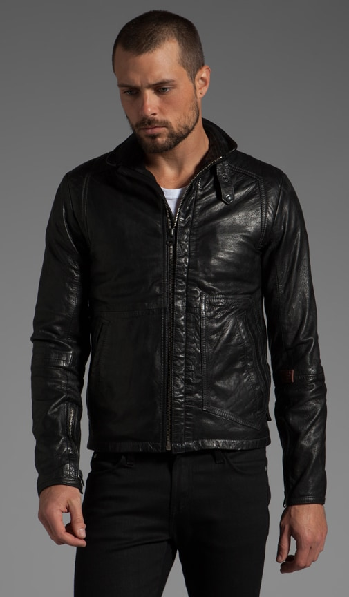RCO Brando Leather Jacket