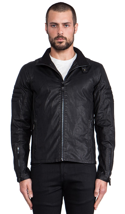 Branco Vegan Leather Jacket