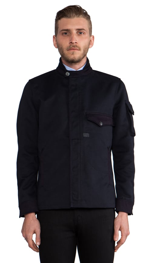 Davin Zip Overshirt