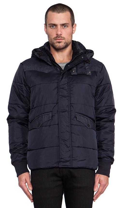 Western Padded Hooded Jacket