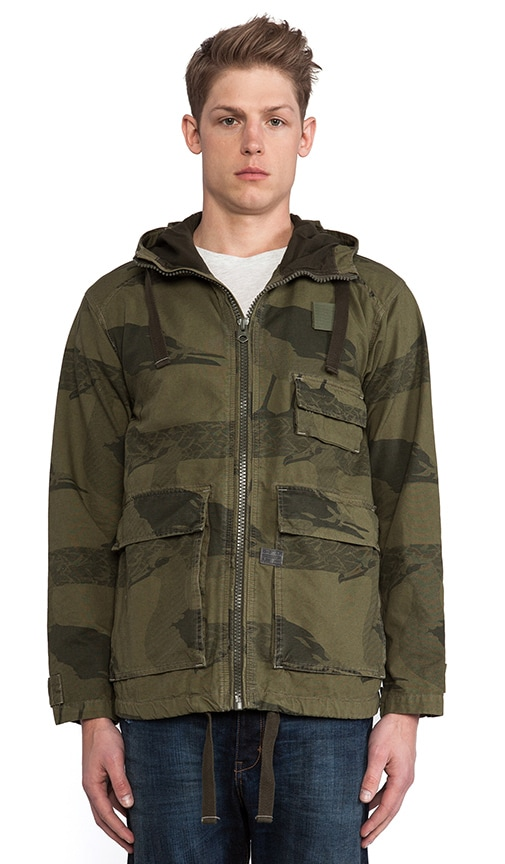 Carber Hooded Albatross Jacket