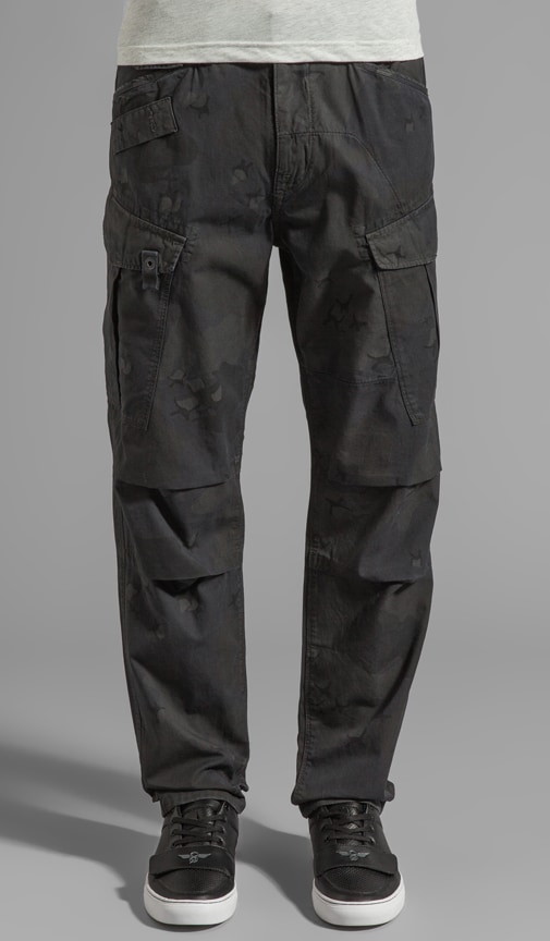Rovic Camo Tapered Pant