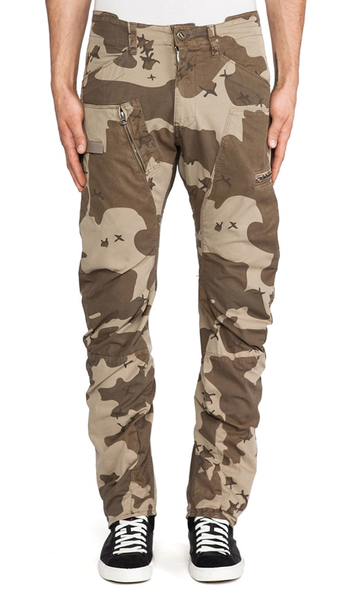 Powel Field 3D Tapered Border Camo