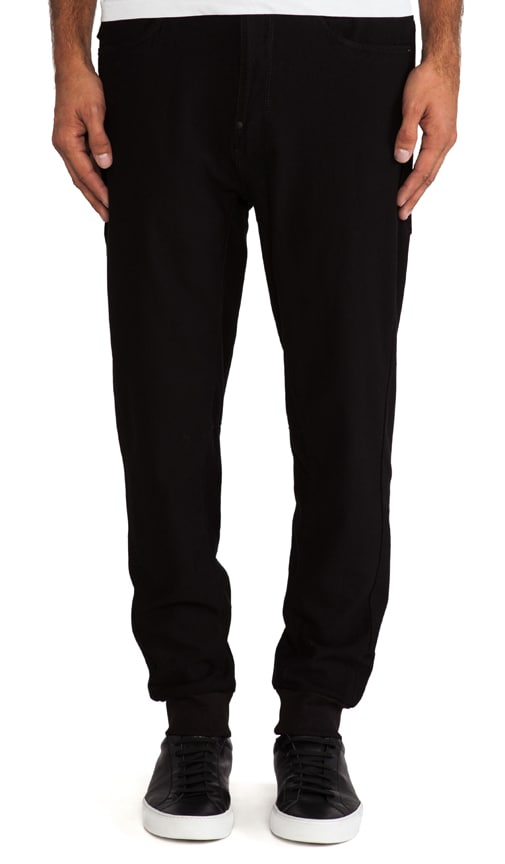 A Crotch Tapered Sweatpant