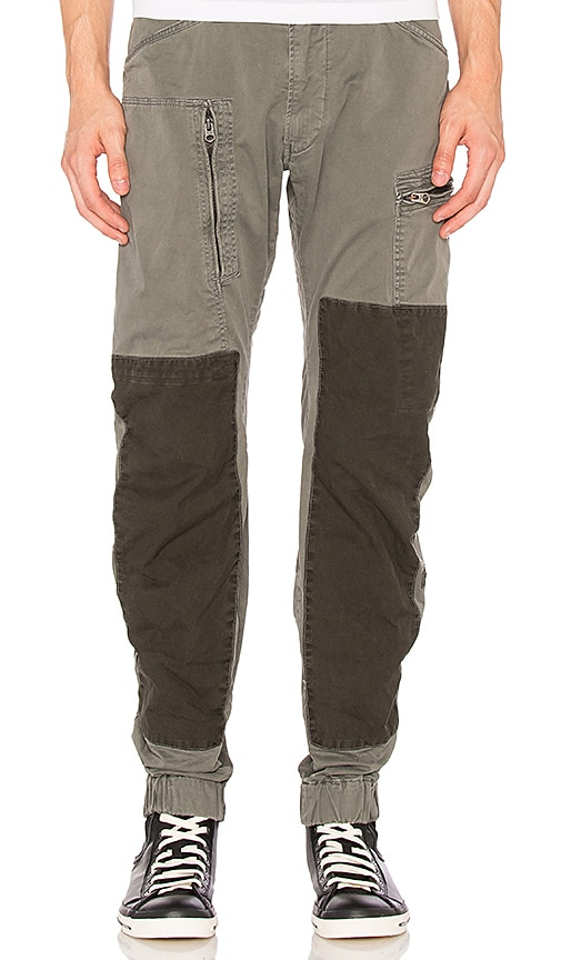 G-Star Powel 3D Tapered Cuff Pant in Orphus