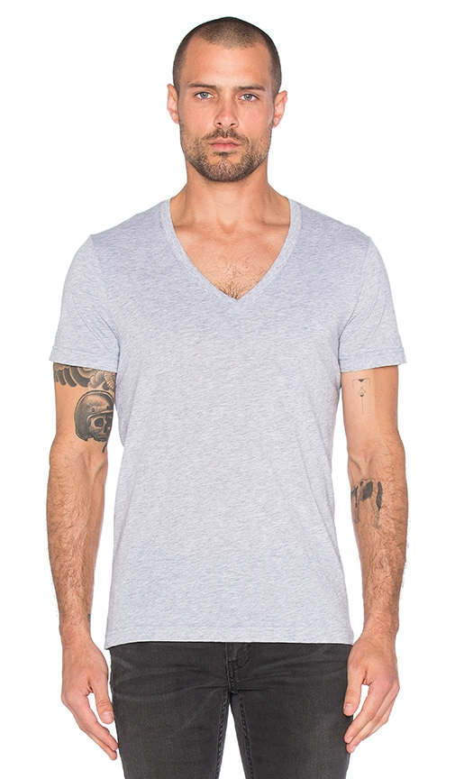 G-Star 2 Pack V-Neck Tees in Heather Grey