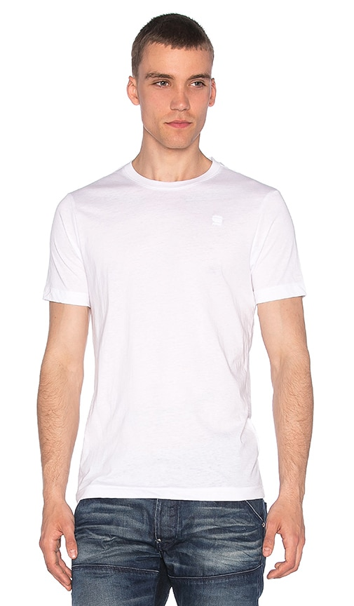 2 Pack Crew Neck Tees White