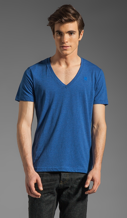 Heather V Neck 2 Pack